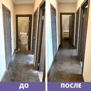 uborka korodora posle remonta Наши работы